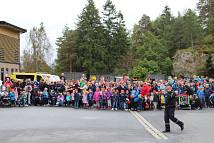 Barnehagebesøk og åpen dag på brannstasjon