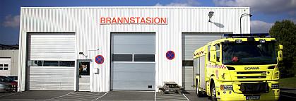Bilpark - Vestby brannstasjon